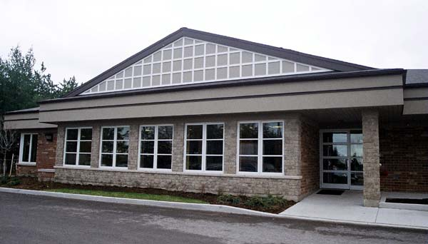 Hospice Simcoe building in Barrie's Simcoe County, Ontario